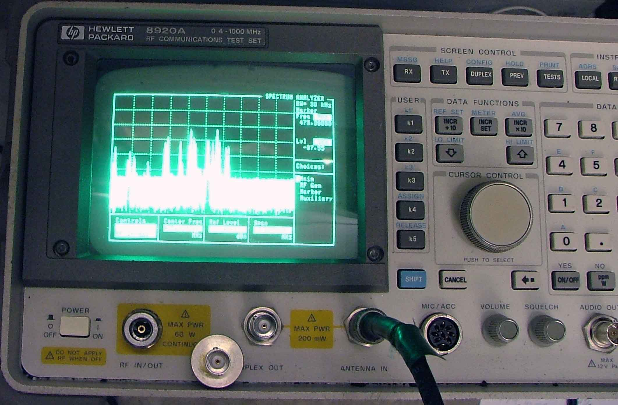 RF Interferance Troubleshooting Analysis